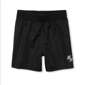 NWT PLACE Boys Black Sport Basketball Shorts 3T